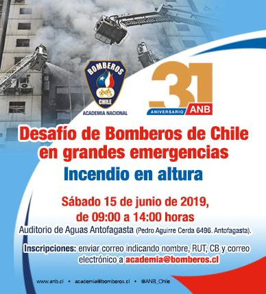 Seminario Zona Norte: Desafíos de Bomberos de Chile ante grandes emergencias