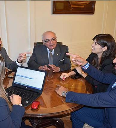 Se realizó reunión de preparación del Congreso OBA MAPFRE que se efectuará en Chile
