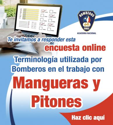 Encuesta online: Terminología utilizada por Bomberos en el trabajo con Mangueras y Pitones