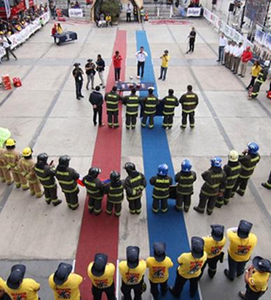 Arica y Antofagasta ganaron el Desafío Bomberos de Chile 2017 Zona Norte