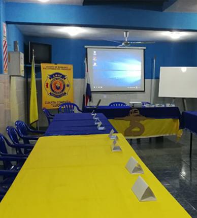 Se inició Programa de Bombero Operativo de la ANB en Paraguay