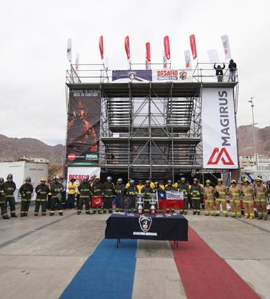 Equipos nortinos clasificados a la gran final del Desafío Bomberos de Chile