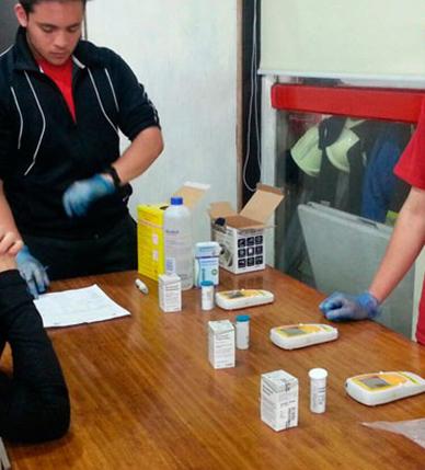 La Academia Nacional de Bomberos dio inicio al programa Determinación de Factores de Riesgo Cardiovascular en Bomberos Voluntarios